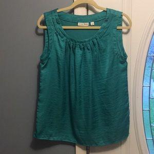 Teal dress shirt, perfect for summer